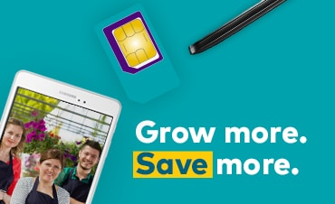 Grow more. Save more.