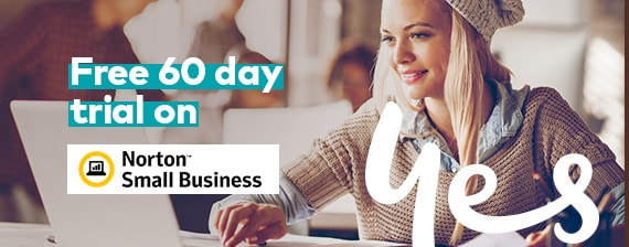 Free 60 day trial on Norton Small Business