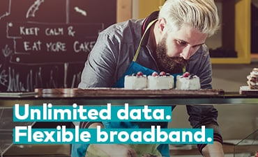 Unlimited data. Made for business.
