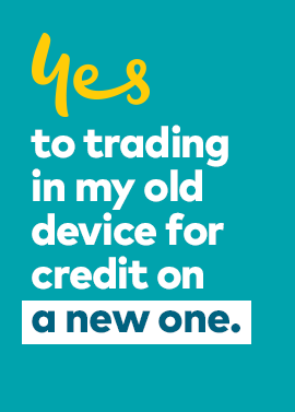 Trade in your business mobile or tablet