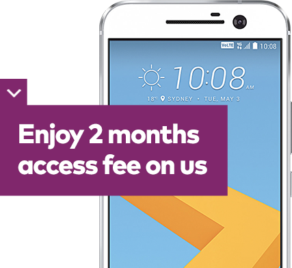 Enjoy 2 months free access fee on us