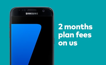 2 months plan fees on us