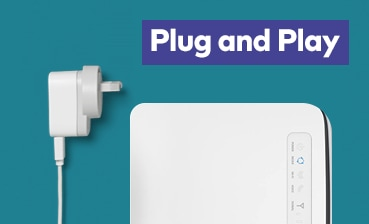 Plug & Play with Home Wireless Broadband