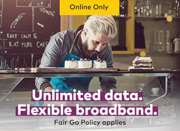 Try a month to month Optus Business broadband plan