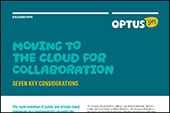 Moving to the Cloud - Collaboration Paper