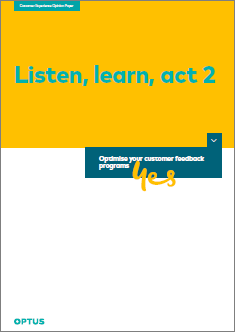 Listen, Learn, Act - Part 2