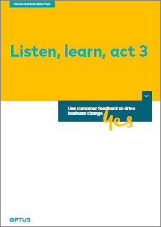 Listen, Learn, Act - Part 3