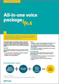 Optus Business Voicebox - Samsung