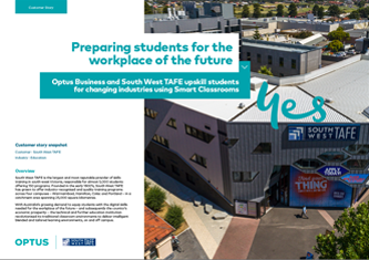 South West TAFE - Case Study