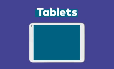 Work beyond the office on an Optus business tablet