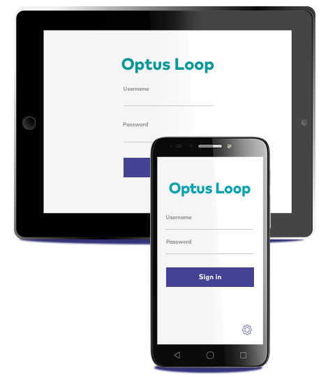 Optus Loop for your mobile and desk phone