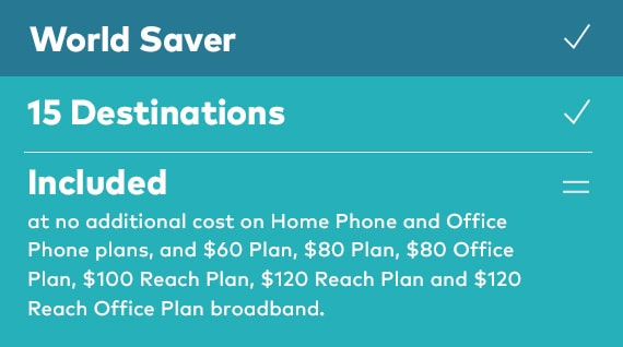 International call rate | World Saver