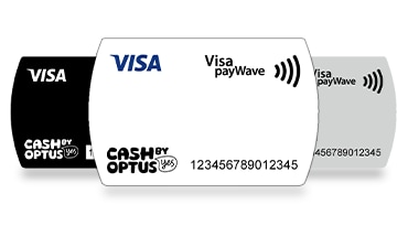 Cash by Optus sticker