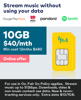 10GB only $40 a month