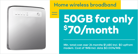 Plug and play with home wireless broadband