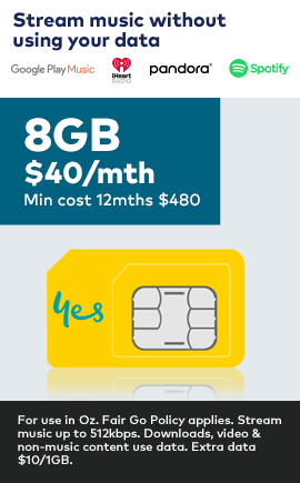 8GB only $40 a month