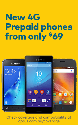 New 4G Prepaid phones from only $69
