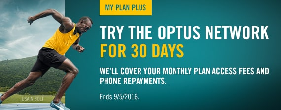 Try the Optus Network for 30 days