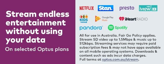 Stream endless entertainment without using your data