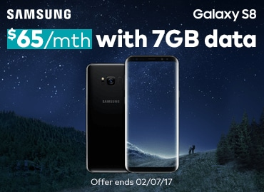 Double data on the Galaxy S8