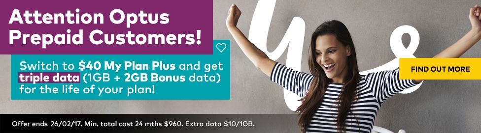Attention Optus Prepaid Customers