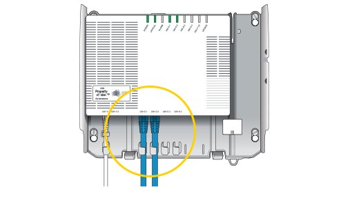 Broadband plans nbn adsl cable optus the boxs front has indicator lights while the undersides mid section has four yellow ports your active nbn broadband service is currently running on one sciox Choice Image