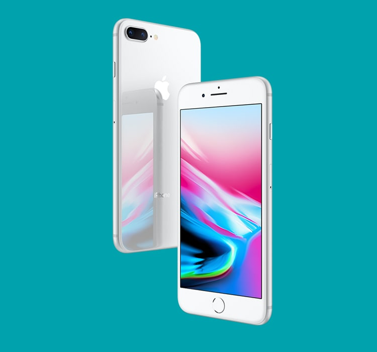 Get the iPhone 8 Plus 256GB with 25GB data for just $89/mth.