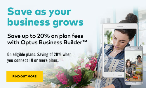 Save big with Optus Business Builder™ and Samsung