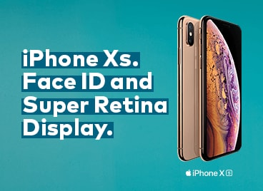 iPhone XS. Face ID and Super Retina Display.