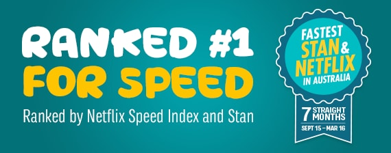 Number 1 for speed