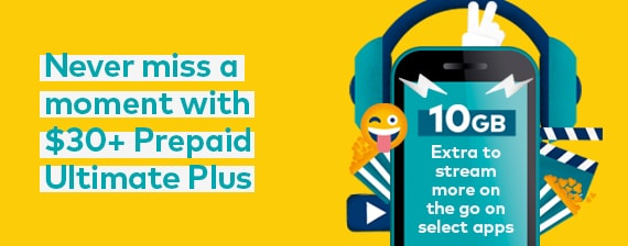 Optus Xtra, Earn extra Prepaid data or MyCredit every 28 days