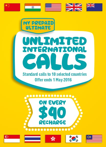 SAY G'DAY WITH  <br />MY PREPAID ULTIMATE