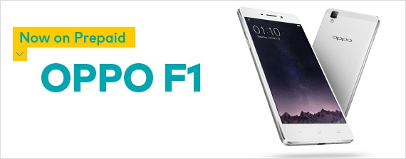 GET THE OPPO F1 ON PREPAID FOR ONLY $199