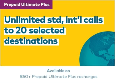 Best Prepaid Plans international Calling