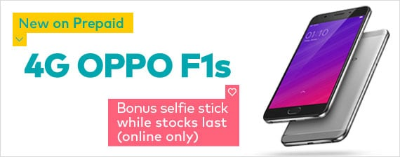 NEW OPPO F1s ON PREPAID FOR ONLY $259