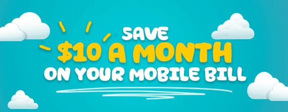 Get $10 Off Your Monthly Mobile Bill