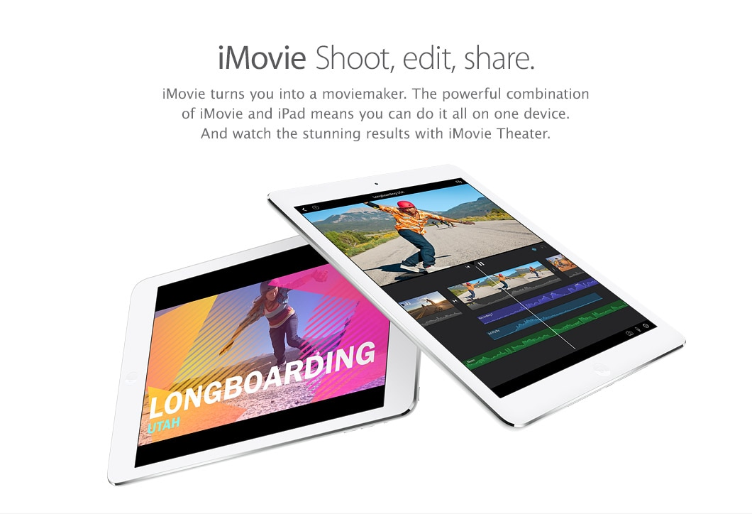 iMovie - Shoot, edit, share