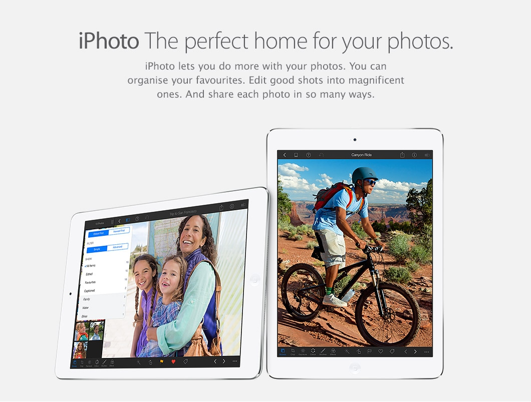 iPhoto - The perfect home for your photos