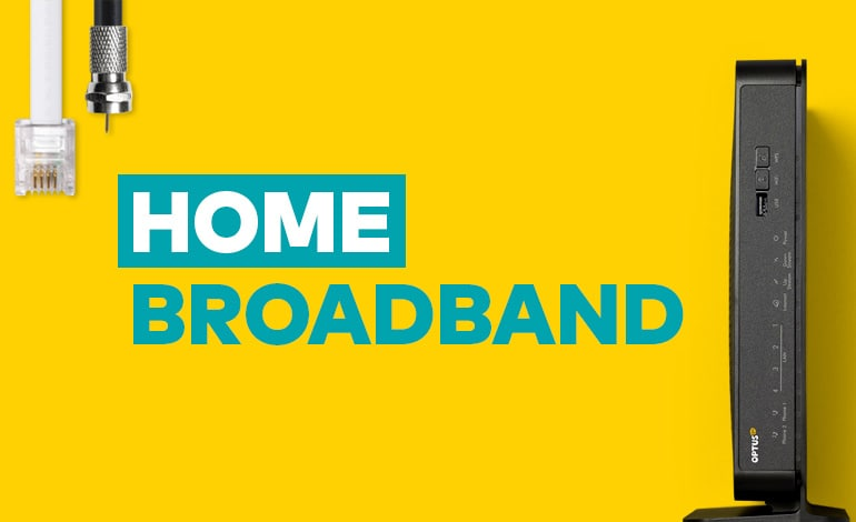 Mobile Broadband Wireless Internet Optus - Prepaid home internet plans