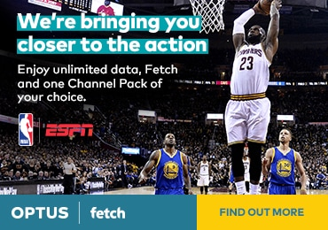 Enjoy unlimited data, Fetch and one Channel Pack of your choice.