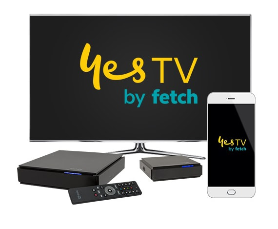 The Fetch TV user interface for Optus TV with Fetch and the standalone app