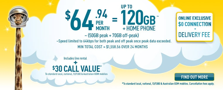 Broadband Home Phone for $64.94