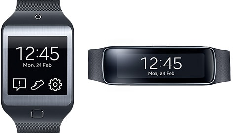 Gear 2 and Gear Fit Wearable Technology