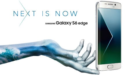 Samsung Galaxy S6 edge mobile phone