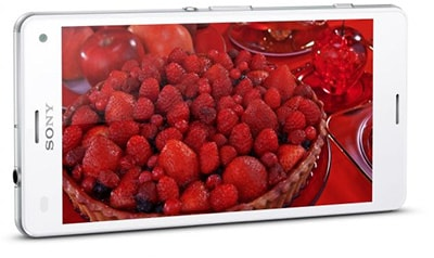 Sony Xperia Z3 Compact HD display