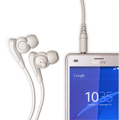 Sony Xperia Z3 Compact Experience superb sound
