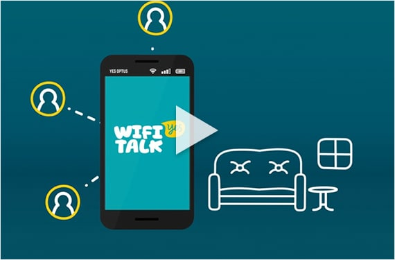 Optus WiFi Talk App