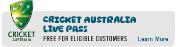 Cricket Australia Live Pass