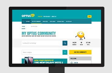 My Optus Community