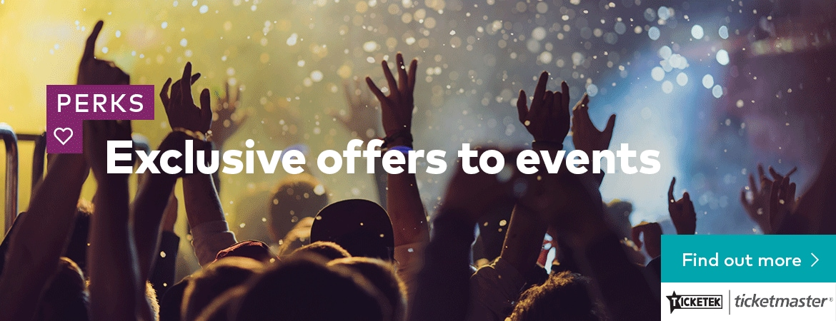 Exclusive offers to events